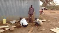 Preparing the open air table