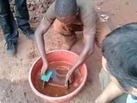 Teaching small scale miners on how prospect for gold