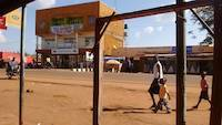 View from streets of Busia, Uganda