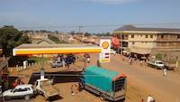 View from the Emirates guest house in Busia, Uganda