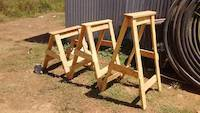 Wooden goats for various applications