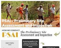 Infographics for Preliminary Site Assessment and Inspection