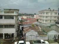 View on Mwanza roofs 25th August 2012