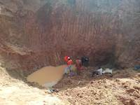 Miners panning for gold