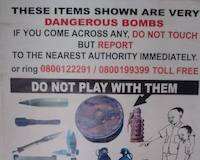 The warning issued in Busia, Uganda