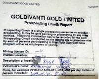Prospecting Check Report Example from Busia, Uganda