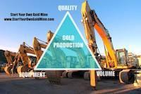 EQV formula for gold mining production