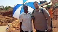 Mr. Dejan Vidojković at mining site #281 in Uganda