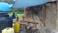 2020-05-04: Camp life at gold mining site