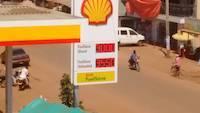 Diesel and benzin prices in Uganda on 3rd December 2017