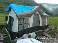 2020-05-02: Large camping tent