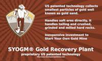 SYOGM™ Gold Recovery Plant