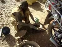 Artisanal extraction of gold in Burkina Faso
