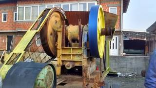 The jaw crusher Ashdaia