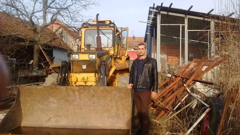 Backhoe loader in Croatia for 7000 euro