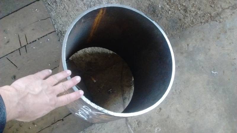 The drum for impact chain flail rock mill
