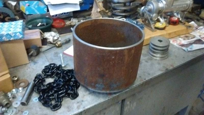 The drum for the impact mill