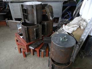 The impact mills during the manufacture time