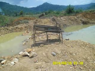 Sogaum gold washing plant in Ghana