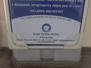 Way too expensive hotel in Dar es Salaam