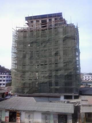The construction in Mwanza in 2012
