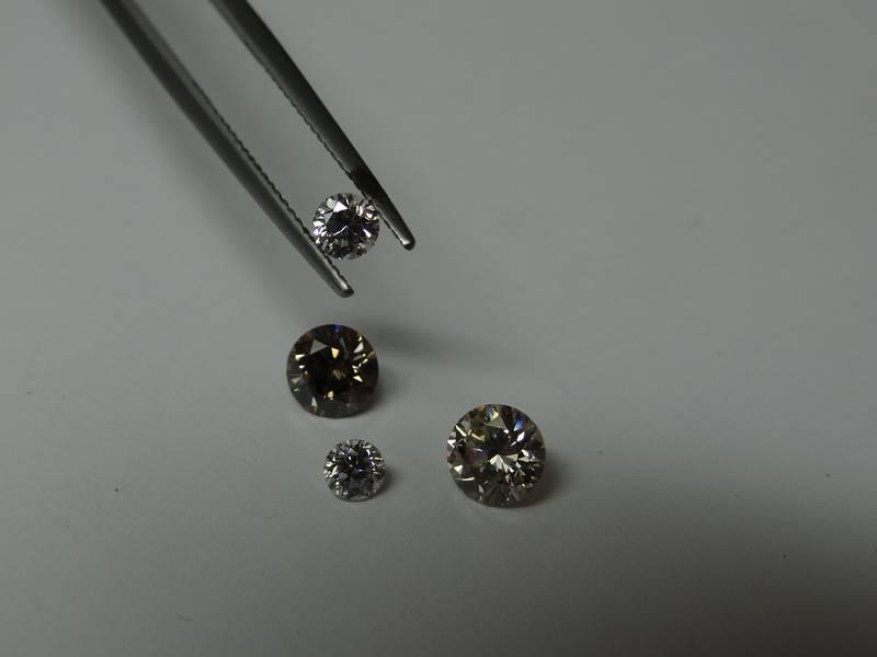Beautifully polished diamonds by GOLDIVANTI LP back in 2012