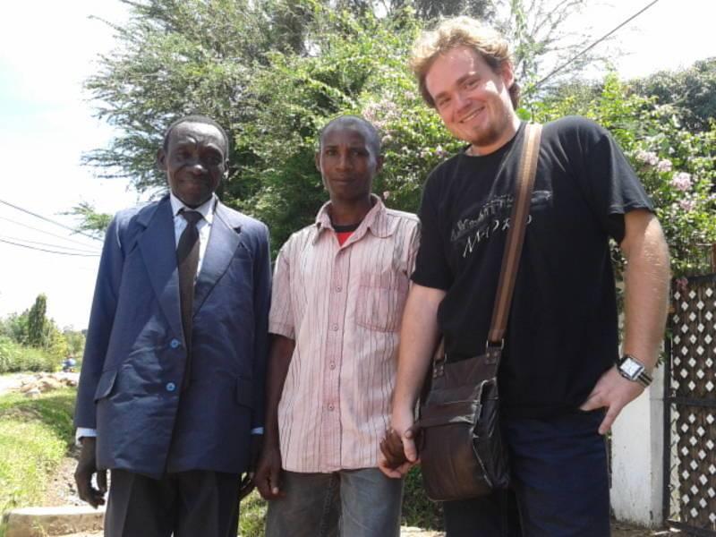 Robert Stažnik in Mwanza in November 2012
