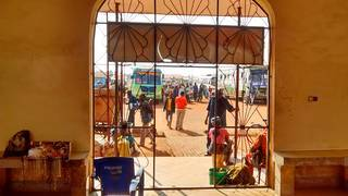 Departure from the Geita bus stand