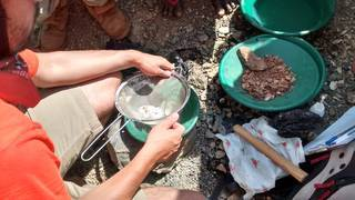Gold prospecting in Tanzania