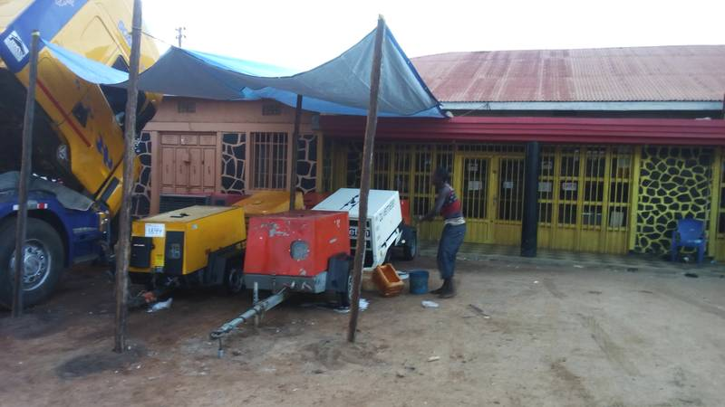 Compressors in Kahama, Tanzania