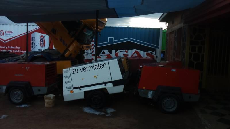 German compressors in Tanzania