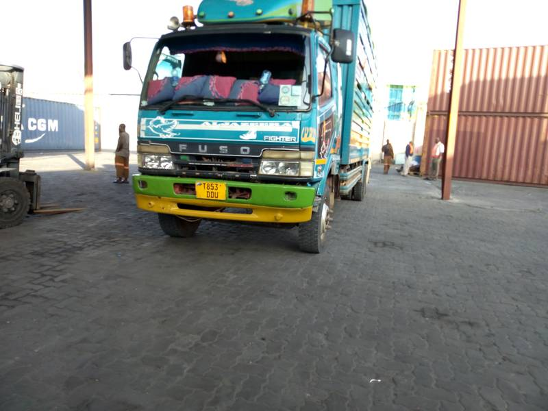 Truck ready to move with the ball mills to Kahama, Tanzania