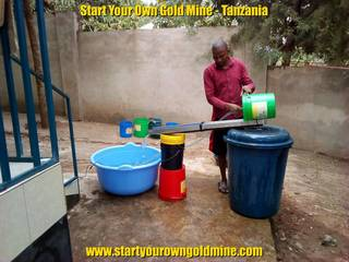 Fine gold recovery system preparation