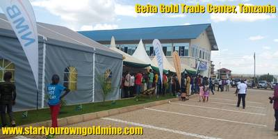 Geita Gold Trade Center, Tanzania