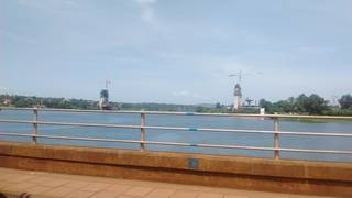 Passing Jinja bridge