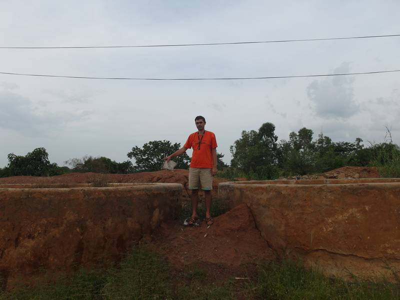 Preliminary Site Assessment and Inspection on Gold Cyanidation Plant