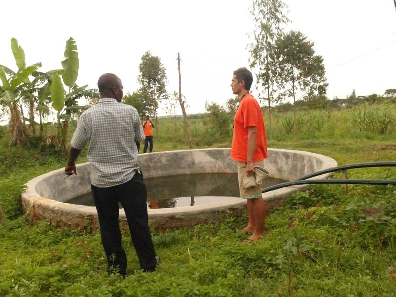 Talking with the gold cyanidation plant owner