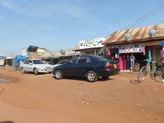 Trading shops in Busia