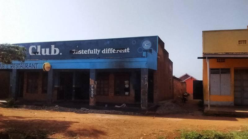 Buildings in Busia, Uganda
