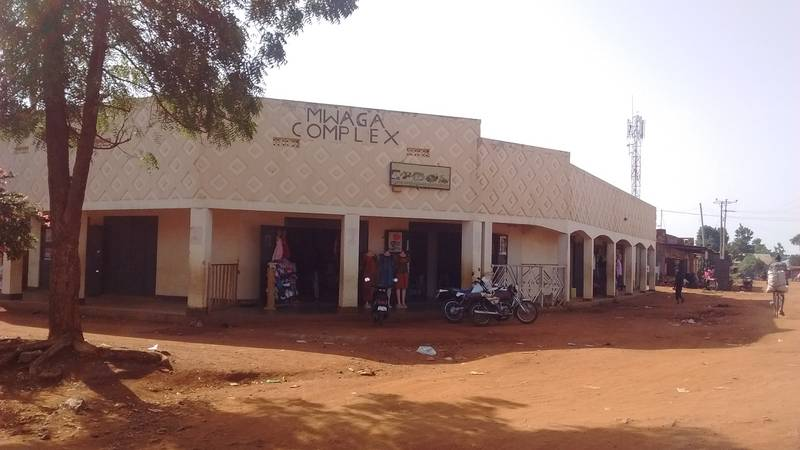 Buildings in Busia, Uganda