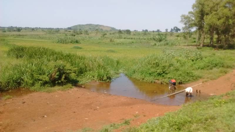 This is stream that may be used in prospecting and mining