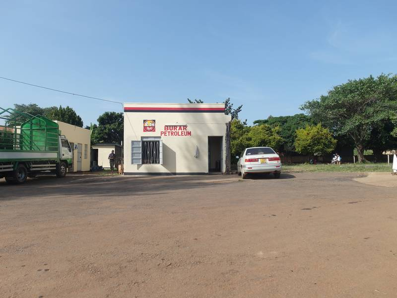 Petroleum station in Busia