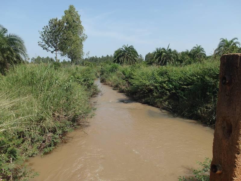 River Okame, water source