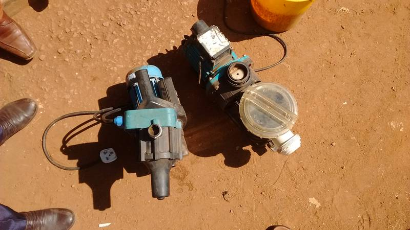 The choice of pumps in Busia, Uganda
