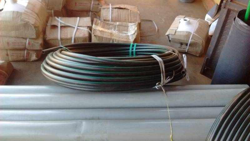 Stronger hoses for the water pump