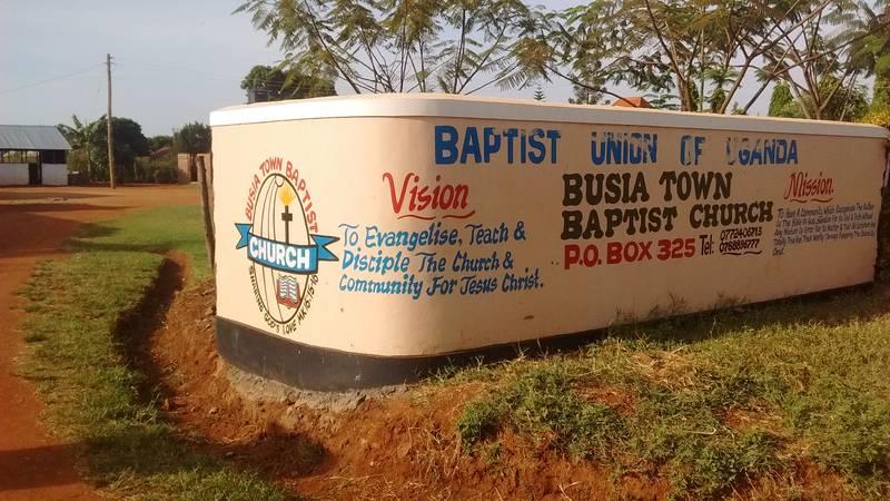 Busia Town Baptist Church in Uganda