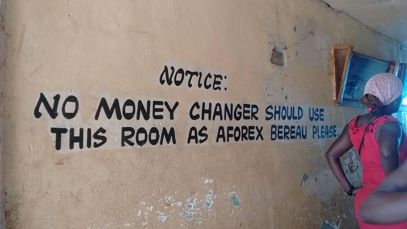 No money changer shall use this room as aforex bereau, please...