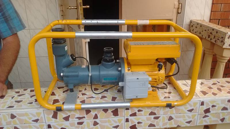 Water pump from Swiss company Ennos