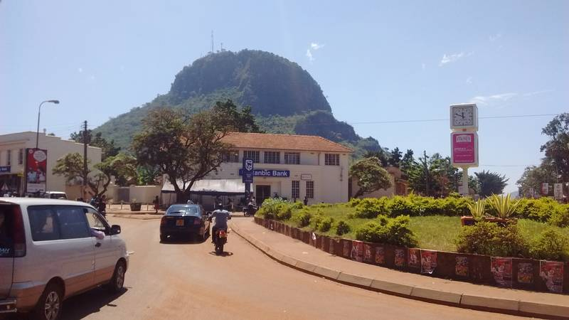Tororo rock in Tororo city, Uganda