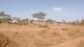 The empty mining site on 26th December 2017
